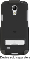 Platinum - Holster for Samsung Galaxy S 4 Mini Cell Phones - Black