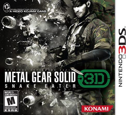 Metal Gear Solid: Snake Eater 3D - Nintendo 3DS