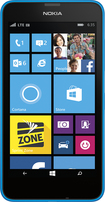 Nokia - Lumia 635 4G LTE with 8GB Memory Cell Phone - Cyan (Sprint)