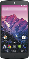 LG - Nexus 5 with 16GB Memory Cell Phone - White (Sprint)