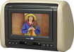 "Audiovox - 7"" LED-LCD Headrest Monitor System with Built-In DVD Player - Black"