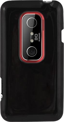 Rocketfish™ - Case for HTC EVO 3D Mobile Phones - Black