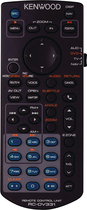 Kenwood - Multimedia IR Remote for Select Kenwood In-Dash Decks - Black
