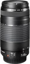 Canon - EF 75–300mm f/4–5.6 III Telephoto Zoom Lens - Black