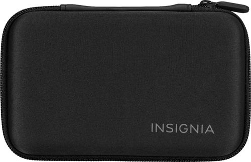 Insignia™ - Go Case for Nintendo 3DS, 3DS XL and New 3DS XL - Black