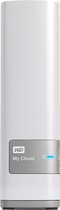 WD - My Cloud 4TB External Hard Drive (NAS) - White
