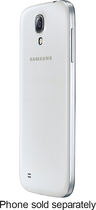 Samsung - Wireless Charging Battery Cover for Samsung Galaxy S 4 Cell Phones - White