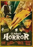 Classic Horror: Five/the Mad Magician/the Man Who Turned To Stone/the Terror Of The Tongs (dvd) 28334141