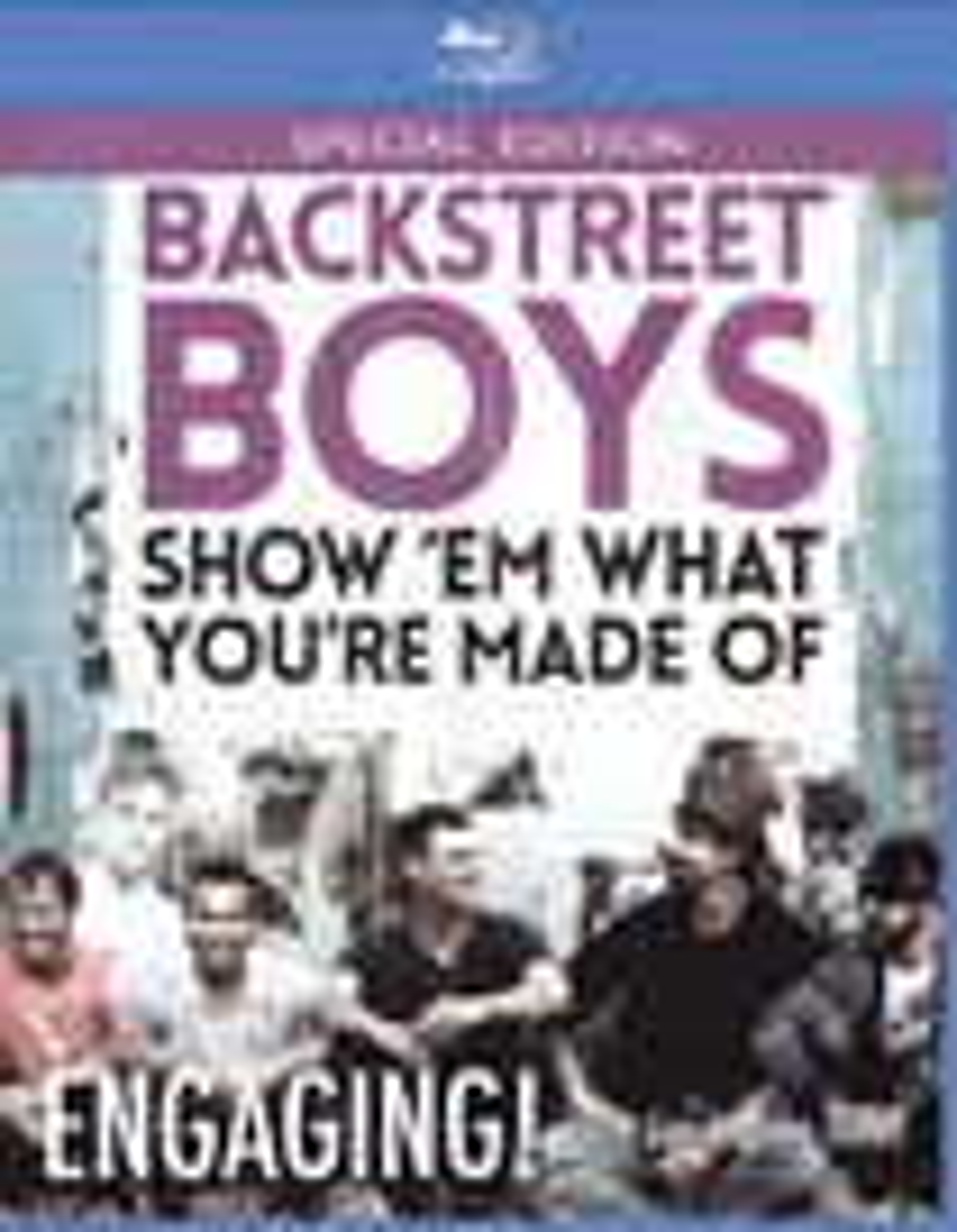 Backstreet Boys: Show Em What You're Made Of [blu-ray] [2015] 28355414