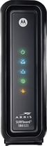 Motorola - SURFboard DOCSIS 3.0 High-Speed Cable Modem - Black