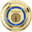 Kwikset - Kevo Bluetooth Deadbolt - Polished Brass