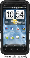 Platinum Series - Cruiser Case for HTC EVO 3D Mobile Phones - Black
