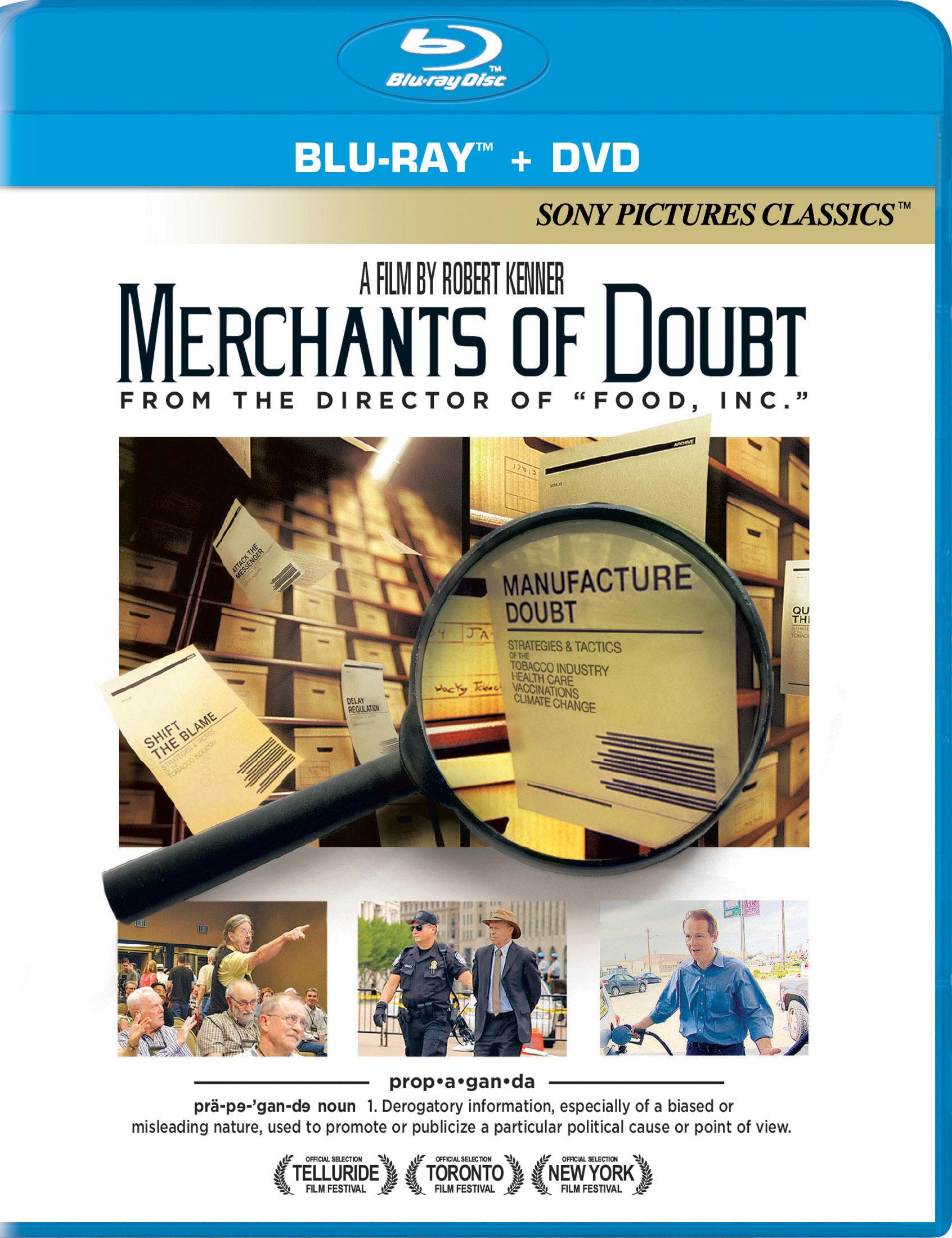 Merchants Of Doubt [2 Discs] [blu-ray/dvd] 28442148