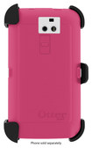 OtterBox - Defender Series Case for LG G2 Cell Phones (Verizon Wireless) - White/Peony Pink