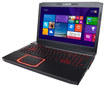 "CyberPowerPC - Fangbook III 15.6"" Laptop - Intel Core i7 - 16GB Memory - 1TB Hard Drive + 64GB Solid State Drive - Black/Red"
