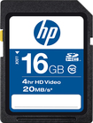HP - 16GB High Speed SDHC Class 10 Memory Card - Black