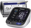 Omron - 10 Series + Upper Arm Blood Pressure Monitor - White/Black
