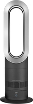 Dyson - AM09 Hot + Cool Fan Heater - Black/Silver