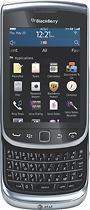 BlackBerry - Torch 9810 4G Mobile Phone - Silver (AT&T)