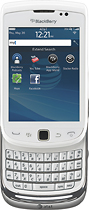 BlackBerry - Torch 9810 4G Mobile Phone - White (AT&T)