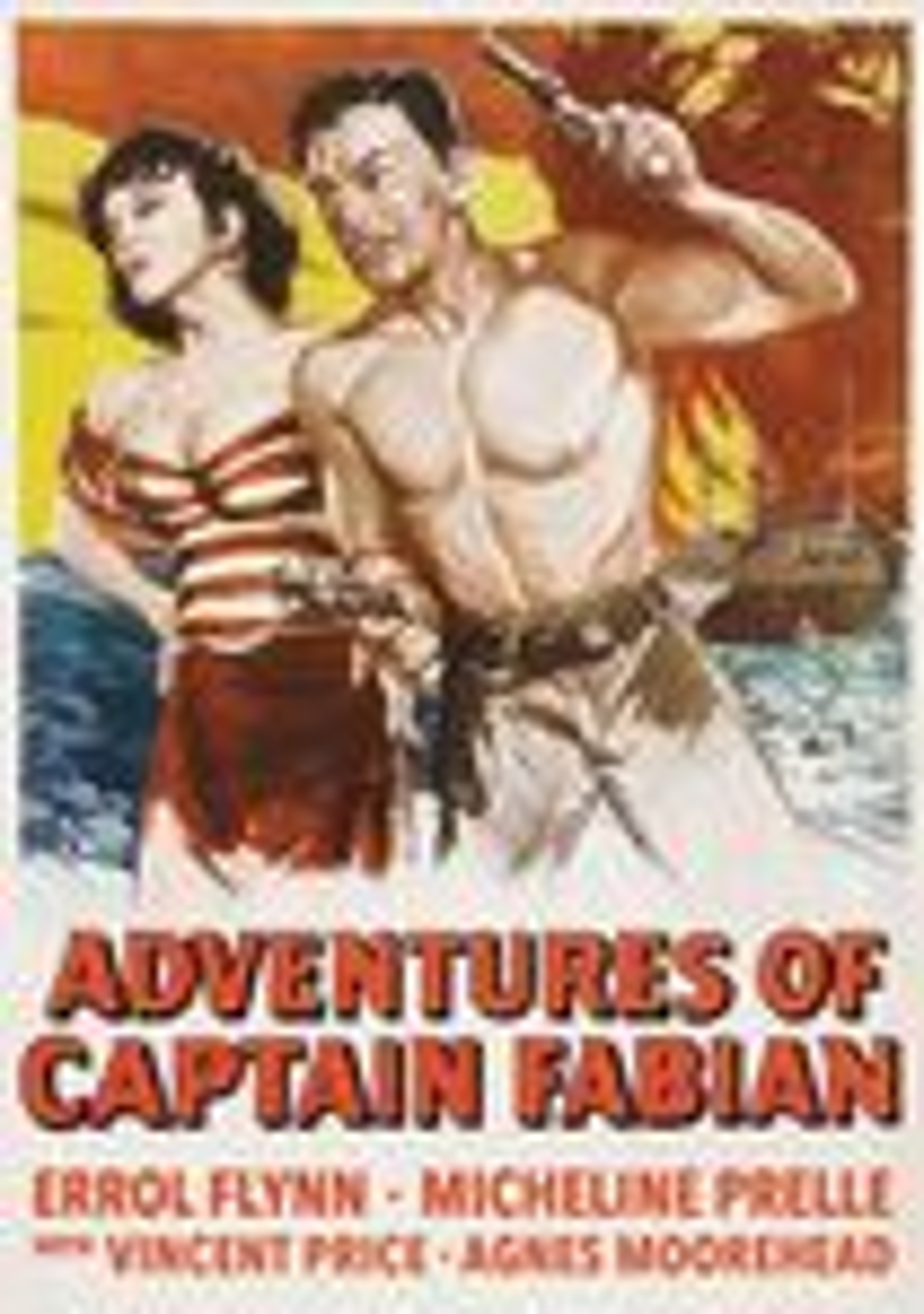 Adventures Of Captain Fabian (dvd) 28573336