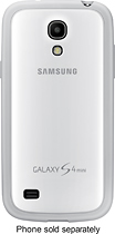 Samsung - Cover for Samsung Galaxy S 4 Mini Cell Phones - White