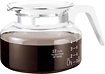 One All - Universal 12-Cup Replacement Glass Coffee Carafe