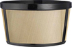 One All - 4-Cup Permanent Basket-Style Coffee Filter - Black