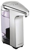 simplehuman - 8-Fl.-Oz. Compact Sensor Soap Pump Dispenser - Brushed Nickel