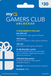 My Best Buy - Gamers Club Unlocked Membership Activation Card (In-Store Redemption Required) - Blue