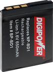 Digipower - Rechargeable Lithium-ion Battery For Select Sony Digital Cameras