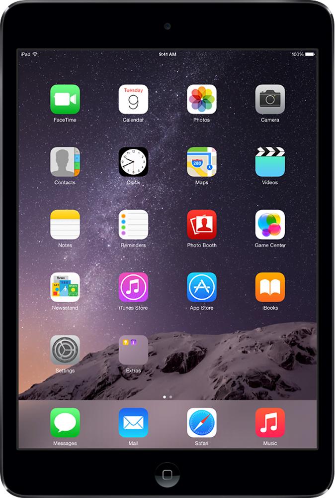 Apple® - iPad® mini with Wi-Fi - 16GB - Space Gray/Black