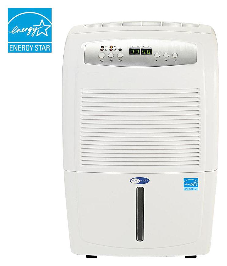 Whynter - 70-Pint Portable Dehumidifier - White