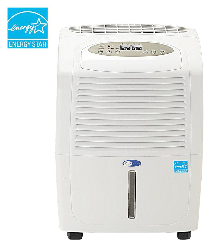 Whynter - 30-Pint Portable Dehumidifier - White