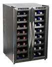 Whynter - 32-Bottle Wine Cooler - Black