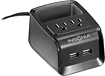 Insignia™ - 2-Outlet Desk Power Hub with Dual USB Charging Ports