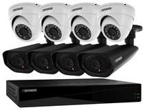 Defender 21327 Sentinel Pro 8-Channel, 8-Camera Indoor/Outdoor DVR Surveillance System Black