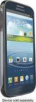 ZAGG - Perimeter Case for Samsung Galaxy S 4 Cell Phones - Clear
