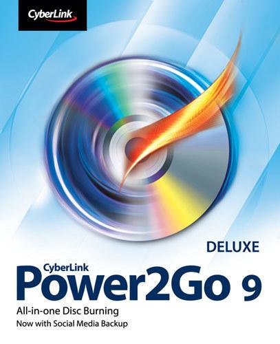 CyberLink Power2Go 9 Deluxe - Windows