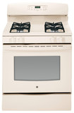 "GE - 30"" Self-Cleaning Freestanding Gas Range - Bisque"