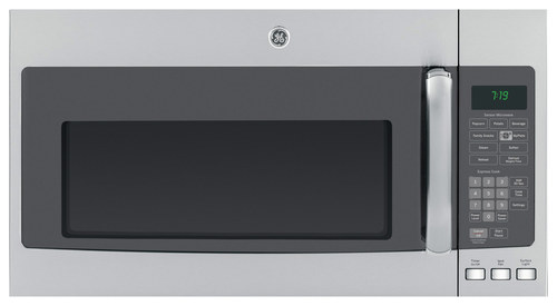GE - 1.9 Cu. Ft. Over-the-Range Microwave - Stainless Steel