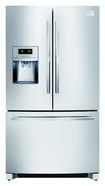 Frigidaire - Professional 22.6 Cu. Ft. Frost-Free Counter-Depth French Door Refrigerator - Stainless-Steel