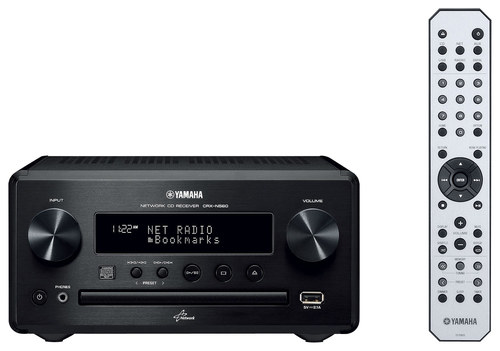 Yamaha - 64W Micro Component Center Section - Black