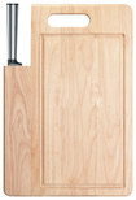 Ginsu - Koden Series Santoku Knife - Wood Grain