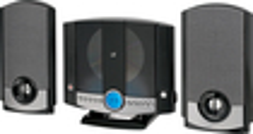 GPX - Micro Hi-Fi System - Black