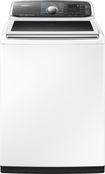 Samsung - 5.2 Cu. Ft. 13-Cycle Top-Loading Washer - White