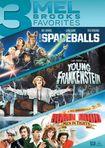 3 Mel Brooks Favorites: Spaceballs/young Frankenstein/robin Hood (dvd) 28805349