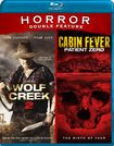 Wolf Creek 2/cabin Fever [blu-ray] 28817257