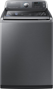 Samsung - Activewash 5.2 Cu. Ft. 15-cycle Steam Top-loading Washer - Platinum