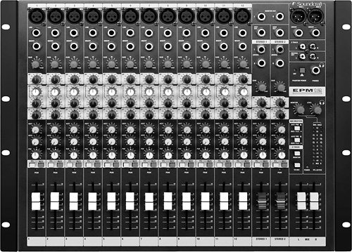 Soundcraft - 12-Channel Mixer - Black